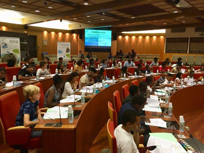 1ère assemblée plénière de l'ATJEG dans l'hémicycle de la CTG